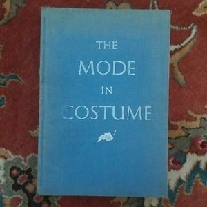 Vtg 1958 Hardcover The Mode in Costume Book